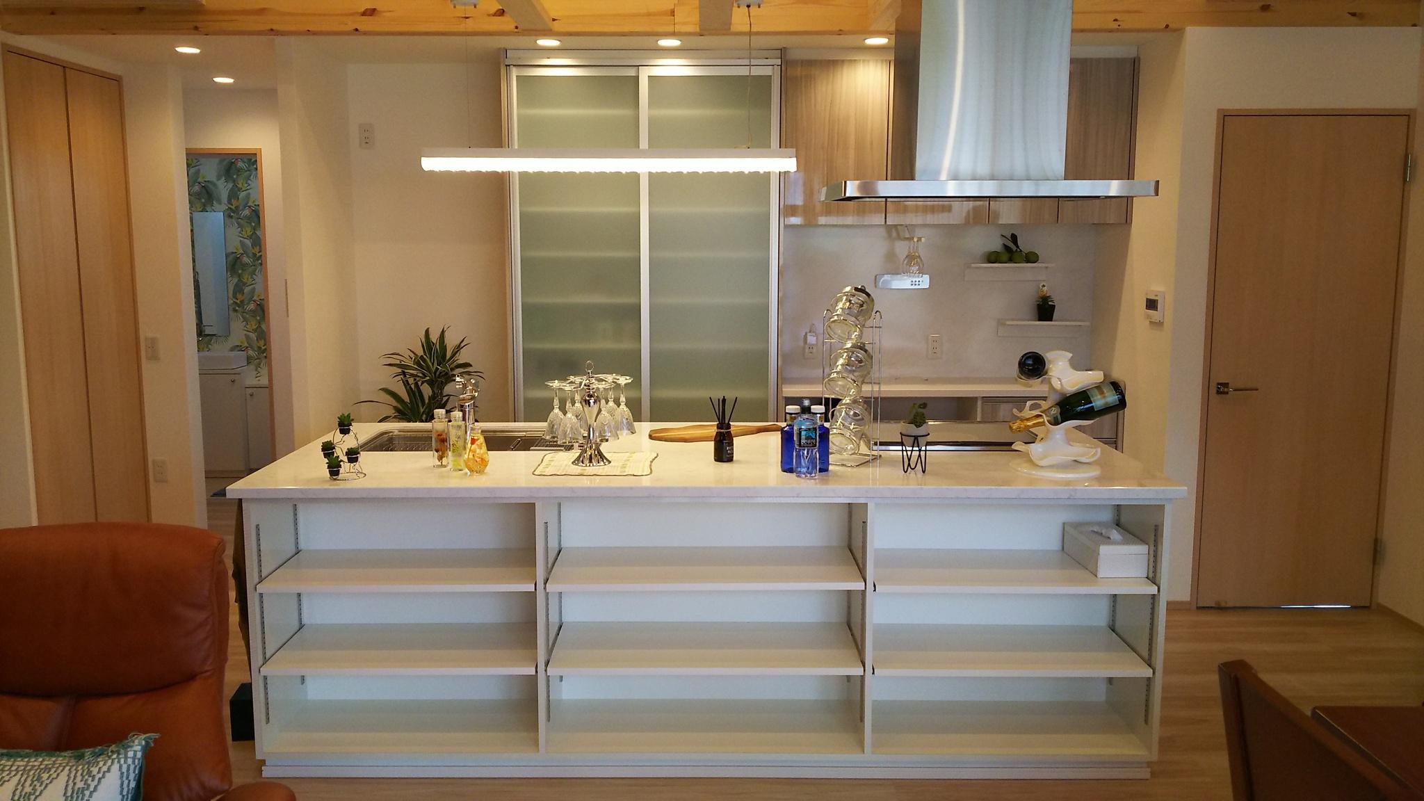 オープンキッチンの事例